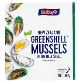 GREEN SHELL MUSSELS - NEW ZEALAND