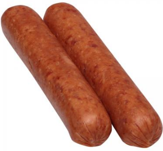 SMOKED BEEF SAUSAGES - $2.50 PER 100 GMS