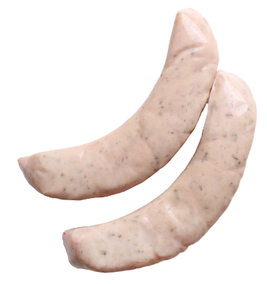 RAW ROSEMARY SAUSAGES  - $2.50 PER 100 GMS