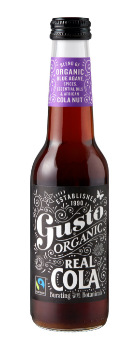 GUSTO ORGANIC REAL COLA - $4.90 PER BOTTLE