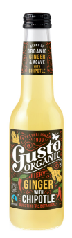 GUSTO ORGANIC GINGER WITH CHIPOTLE - $4.90 PER BOTTLE