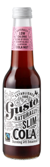 GUSTO NATURALLY SLIM COLA - $4.90 PER BOTTLE
