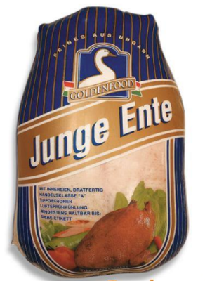 HUNGARIAN DUCK WITH GIBLETS - $1.20 PER 100 GMS