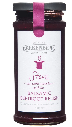 BALSAMIC BEETROOT RELISH