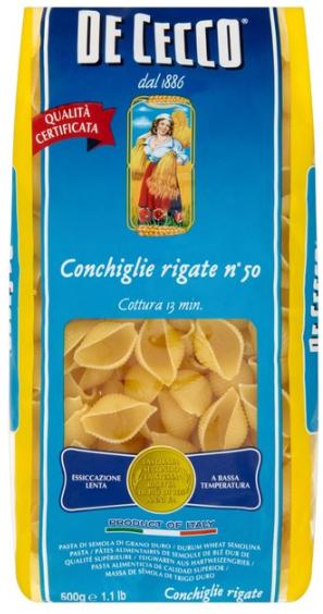 CONCHIGLIE DECECCO - 500 GMS
