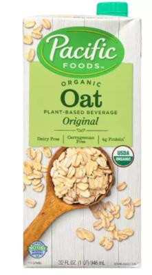 ORGANIC OAT BEVERAGE  - PACIFIC FOODS