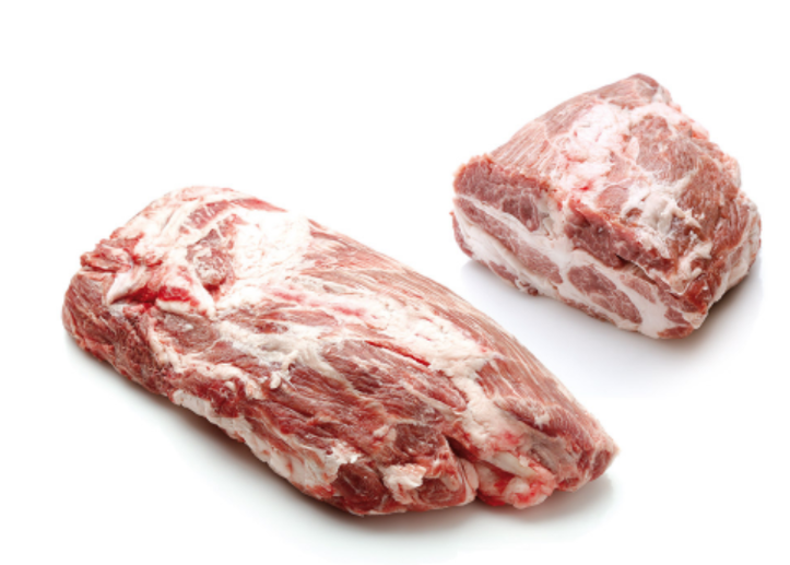 IBERICO PORK COLLAR - SPAIN- $4.30 PER 100 GMS