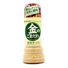 MIZKAN SESAME SAUCE WITH ROASTED NUTS - 250 ML