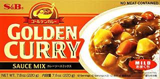 S&B GOLDEN CURRY WITH VEGE MILD SHOKUBUTSU  - 230 GMS