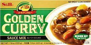S&B GOLDEN CURRY MEDIUM HOT  - 220 GMS