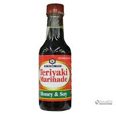 KIKOMAN TERIYAKI HONEY/SOY - 250 ML