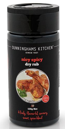 NICY SPICY DRY RUB - NZL