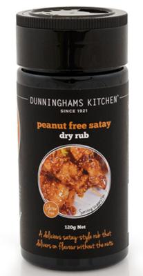 PEANUT FREE SATAY DRY RUB - NZL