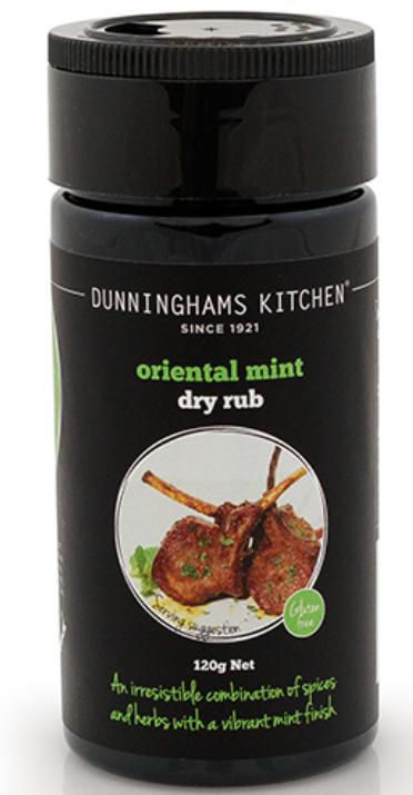 ORIENTAL MINT DRY RUB - NZL