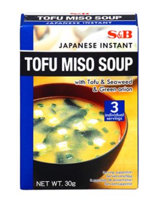 S&B EX SOKUSEKI TOFU MISOSHIRU - 30 GMS