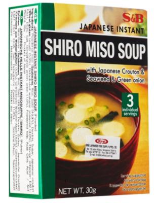 S&B EX SOKUSEKI SHIRO MISOSHIRU - 30 GMS