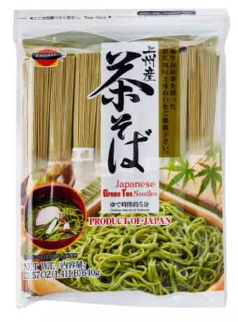 JAPANESE GREEN TEA SOBA - 640 GMS PACK