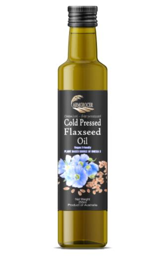 COLD PRESSED FLAXSEED OIL - AUSTRALIA