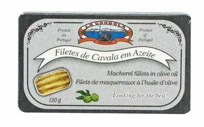 LA GONDOLA-MACKEREL FILLETS IN OLIVE OIL