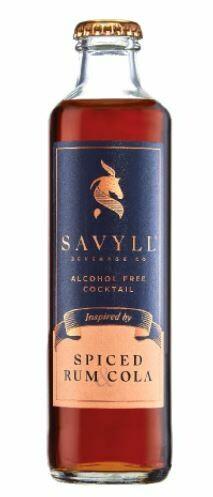ALCOHOL FREE- SAVYLL SPICED RUM COLA