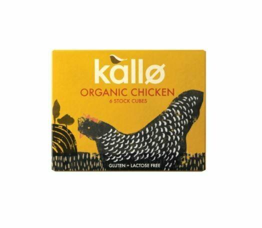 KALLO ORGANIC CHICKEN STOCK CUBES