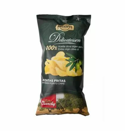 ARGENTE EXTRA VIRGIN OLIVE OIL EXTRA CRUNCHY POTATO CHIPS 160G