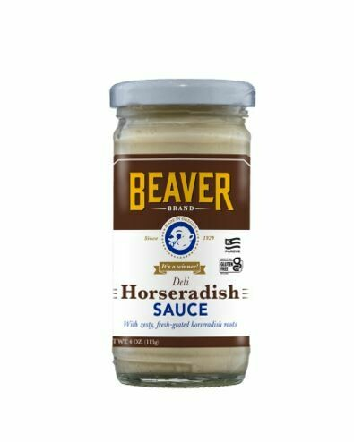 SAUCE BEAVER DELI HORSERADISH SAUCE - NZL