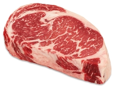 USDA PRIME GRADE RIBEYE - USA - $7.90 PER 100 GMS