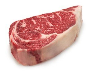 USDA BLACK ANGUS RIBEYE - $4.70 PER 100 GMS