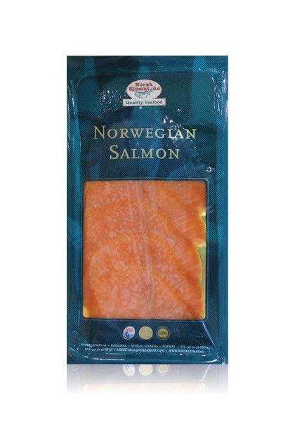 SMOKED NORWEGIAN SALMON - NORWAY - $7.00 PER PACK