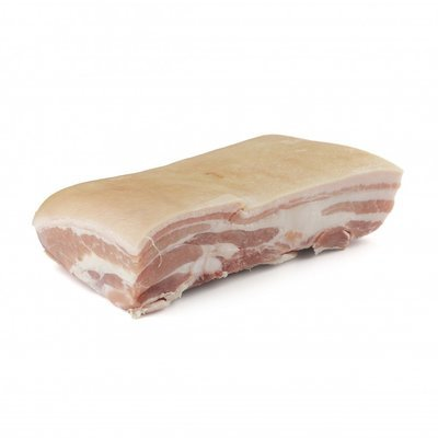 SPANISH DUROC PORK BELLY SKIN ON - $2.50 PER 100 GMS