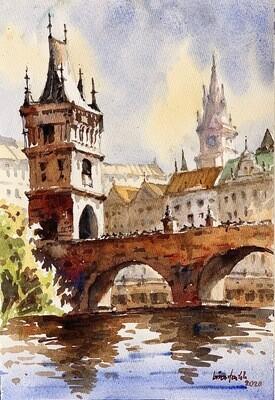 [Beginner] Urban Landscape Watercolor Workshop  / 20 Sept