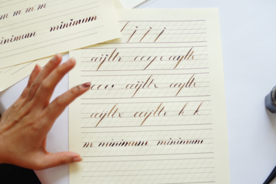 Introduction To Copperplate Calligraphy Workshop / 18 Oct
