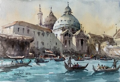[Beginner] Urban Landscape Watercolor Workshop  / 11 October