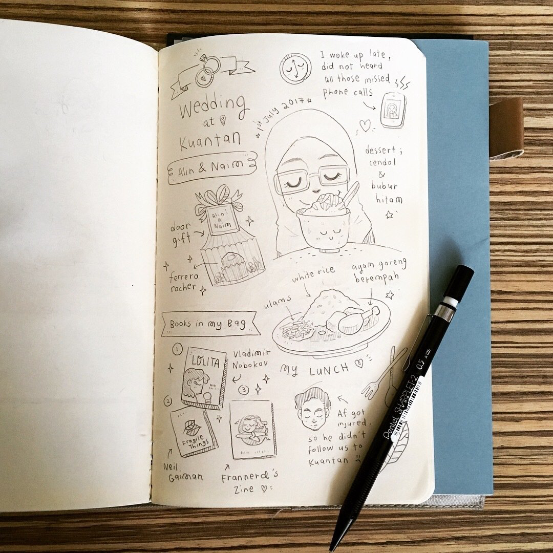 Beginner's Class to Doodling and Zine Making // 14 April