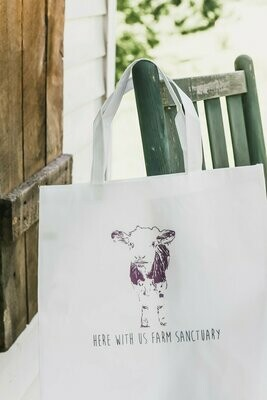 Here With Us Farm Sanctuary Tote