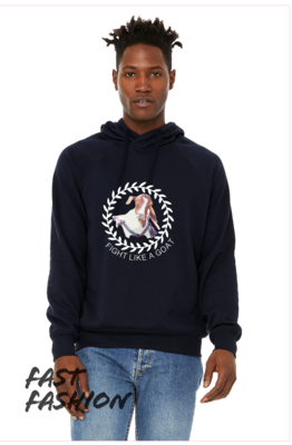 Fight Like a Goat BELLA+CANVAS Unisex Crossover Hoodie