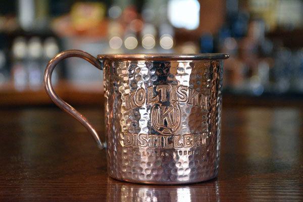 Koltiska Distillery Copper Moscow Mule Cup