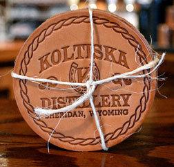 Koltiska Leather Coasters