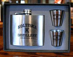 Koltiska Distillery Flask Gift Box