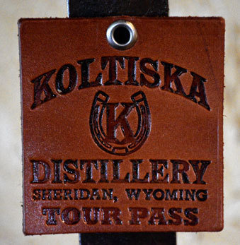 Koltiska Leather Magnet