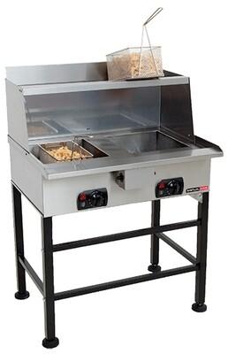 Fryer, spaza - electric