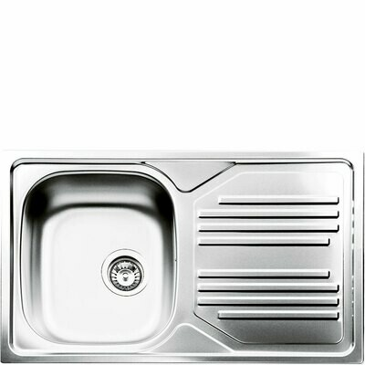 Smeg - single bowl sink
