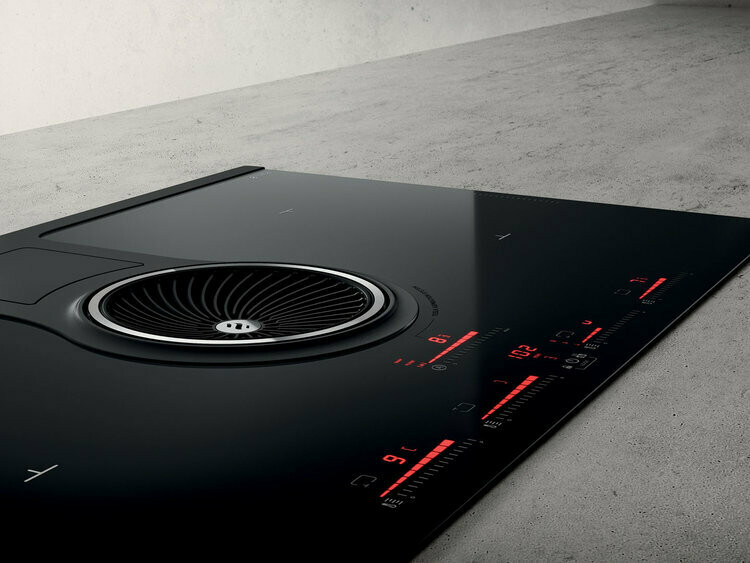 Elica - downdraft induction cooktop