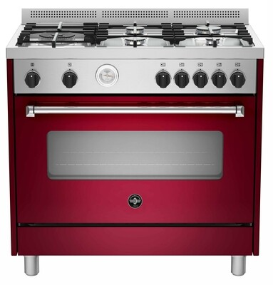 la Germania - 90cm dual fuel cooker