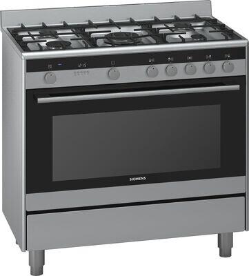 Siemens 90cm gas/electric cooker