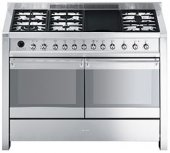 Smeg - 120cm Opera gas/electric range cooker