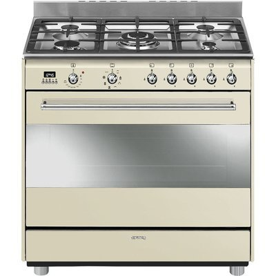 Smeg - 90cm Concert Gas/electric cooker