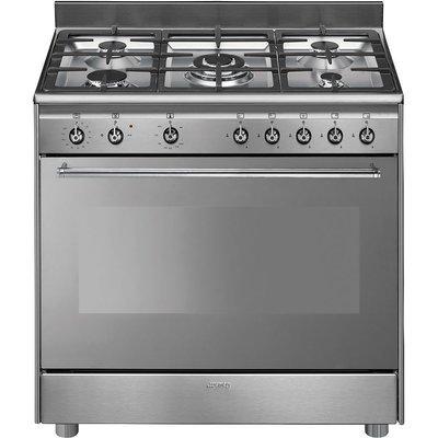 Smeg - 90cm Concert range full gas cooker