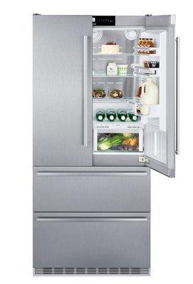 Liebherr - Fridge-freezer, french door